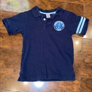 BOGO 50% off Gymboree navy blue collared shirt